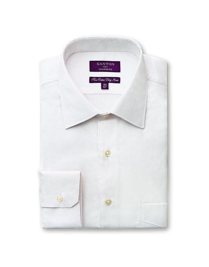 Ganton White Business Shirt - 2018AC