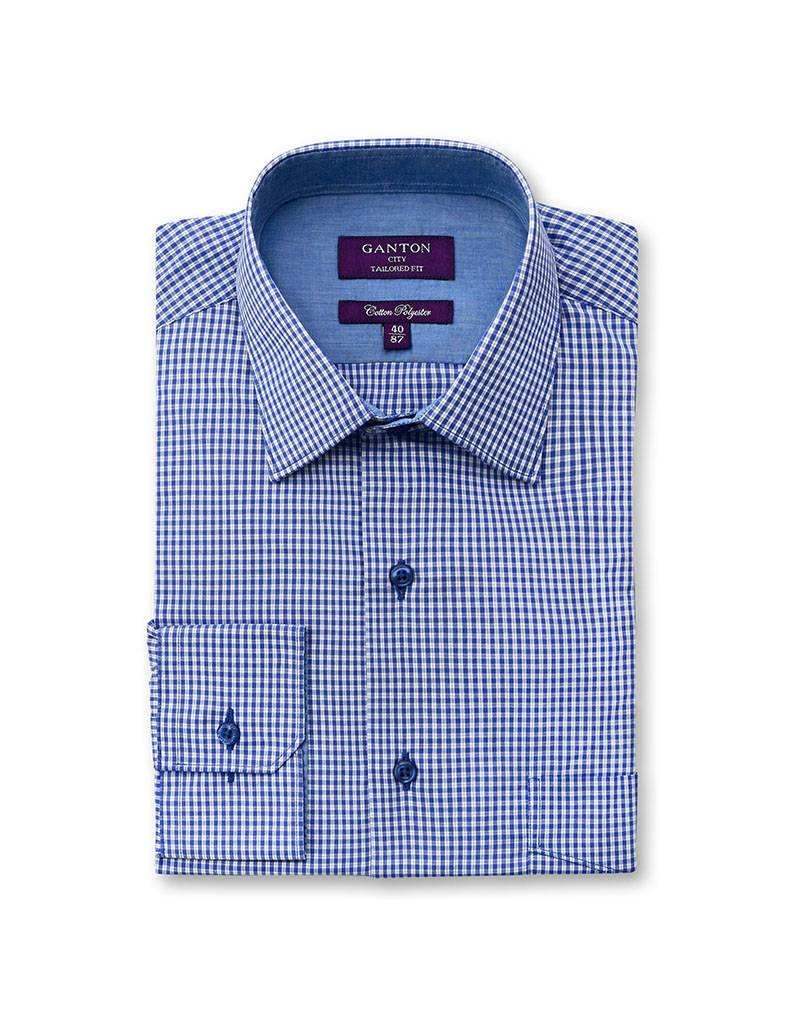 Ganton Blue Business Shirt - 3005ACK