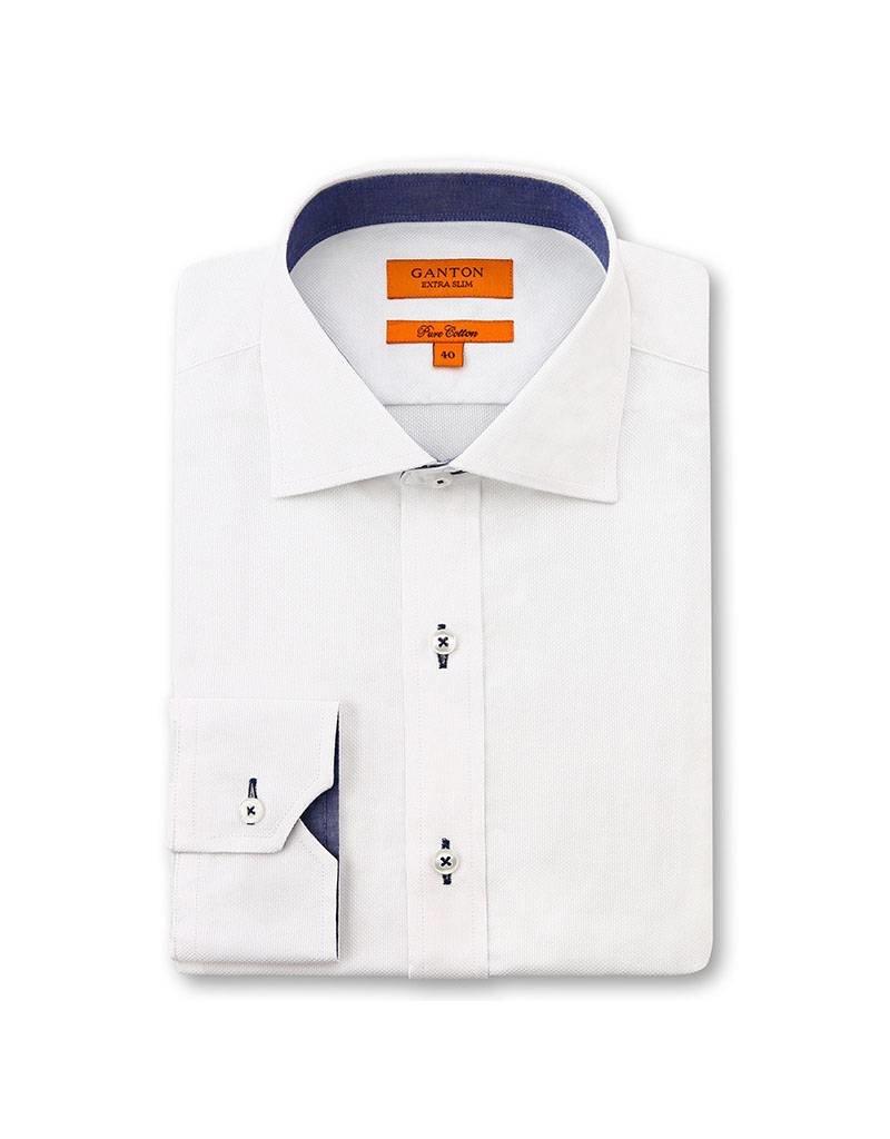 Ganton White Business Shirt - 3081VSSPK
