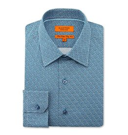 Ganton Turqoise Dress Shirt - 5006SSN