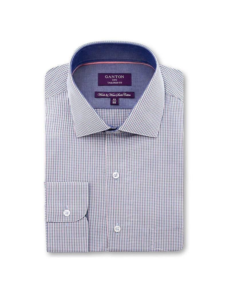 Ganton Red Business Shirt - 6052MSSK