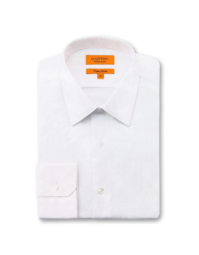 Ganton White Business Shirt - 3083SS
