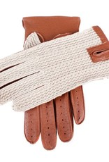 Dents Two-tone Driving Gloves | Cognac/Tan