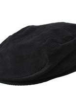 Dents Black Cord Cap