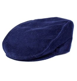 Dents Blue Cord Cap