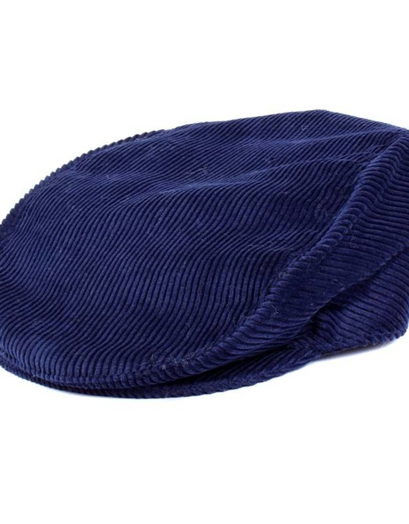 Dents Blue Cord Cap