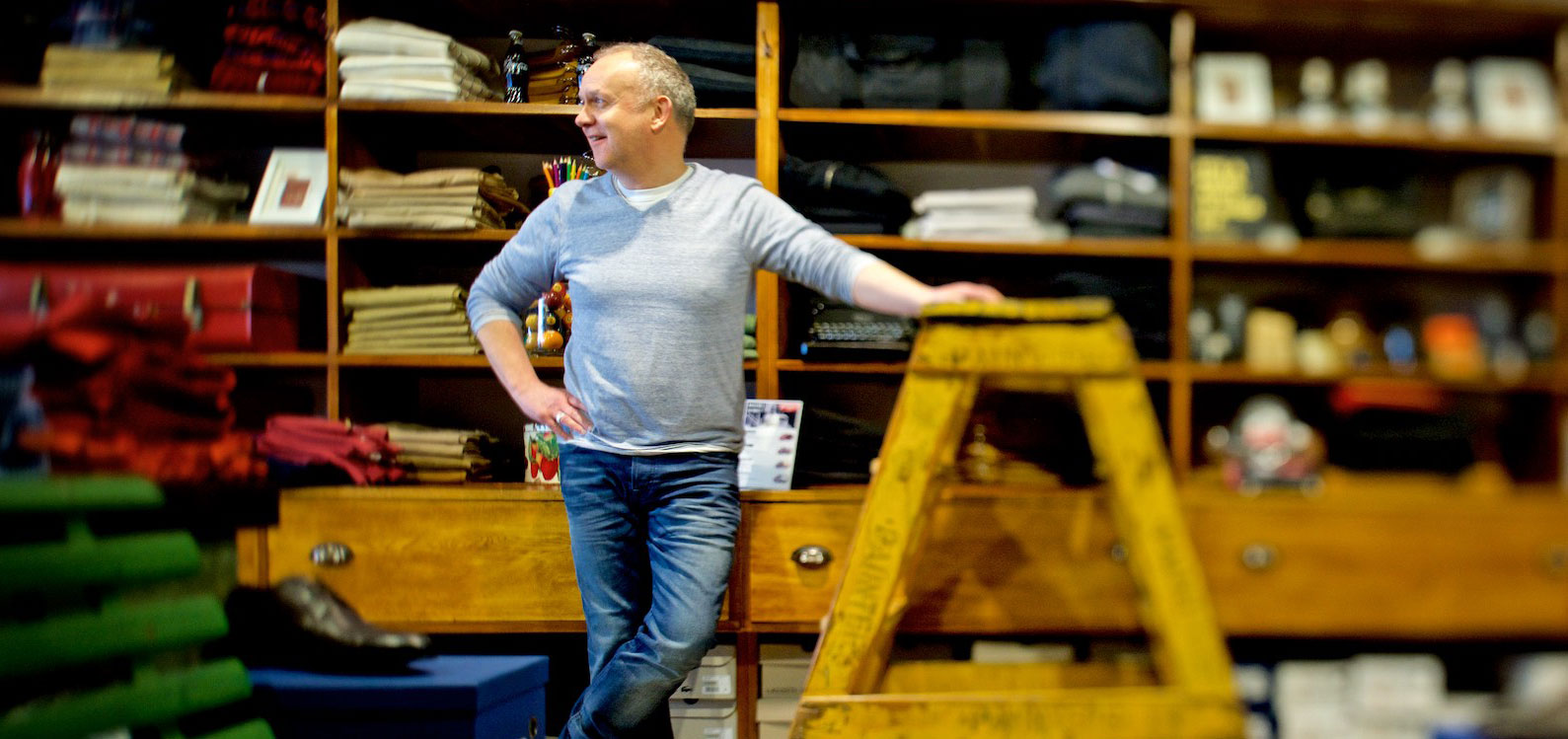 Andrew Scawen has owned Mitchell McCabe Menswear for over  20 years