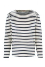 Armor Lux Breton Mariniere Long Sleeve Striped Tee | Neutral / Navy