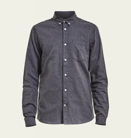 No Nationality Frede Shirt | Charcoal
