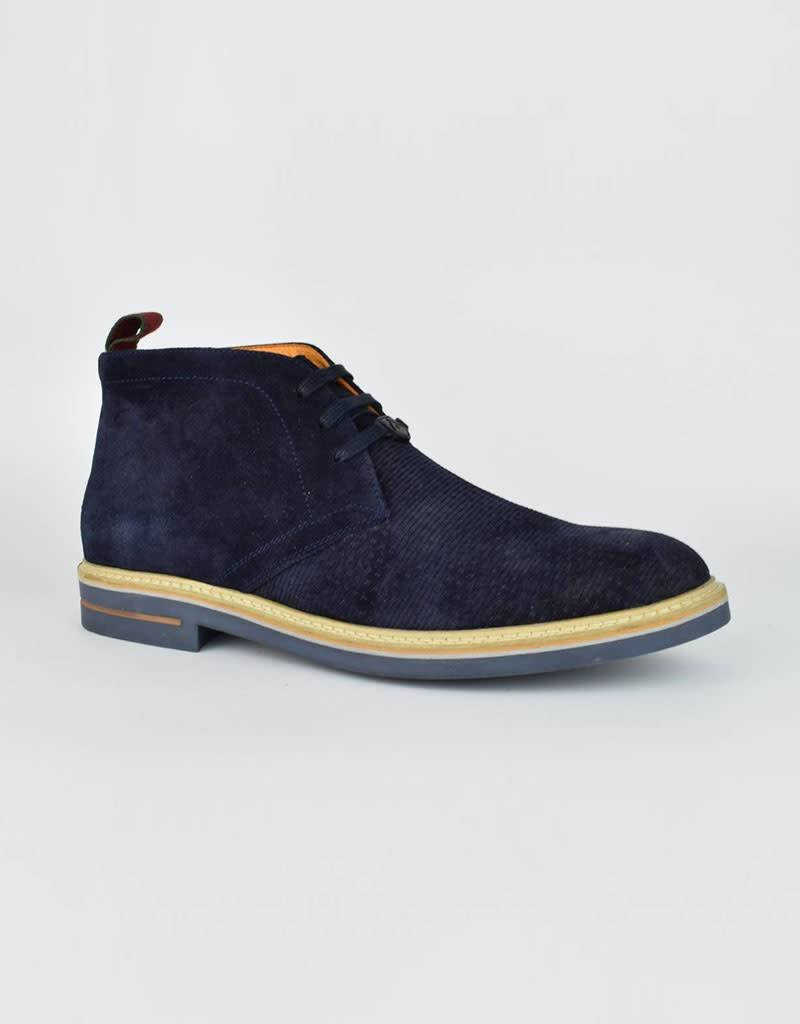 Ambitious Pensilvania  Leather Shoes   Navy