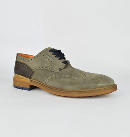 Ambitious Gusto Suede Leather Shoes | Taupe