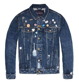 Scotch & Soda AMS Blauw | Trucker Jacket
