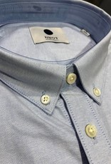 No Nationality Sixteen Oxford Button Through | Light Blue