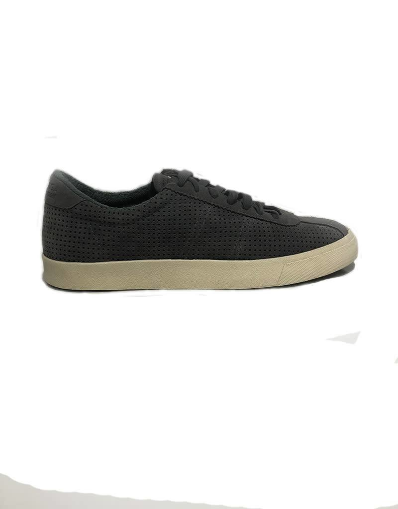 Superga Perforated Suede Sports Shoes   Grey Ash