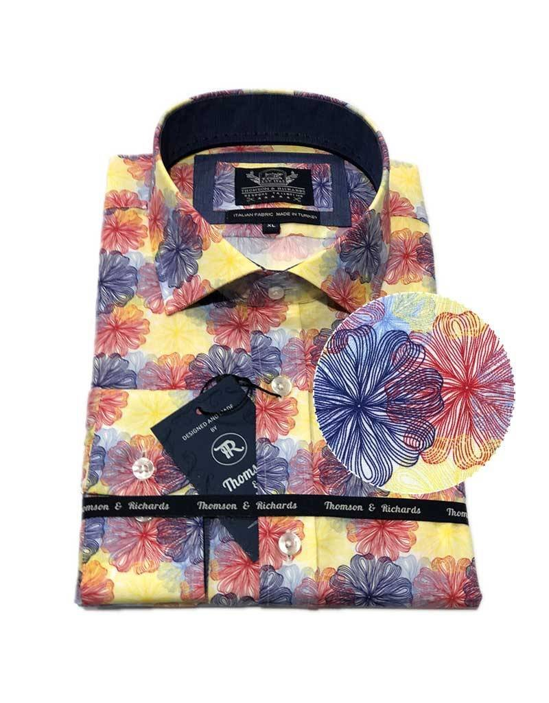 Thompson & Richards Alonso Dress Shirt | Red
