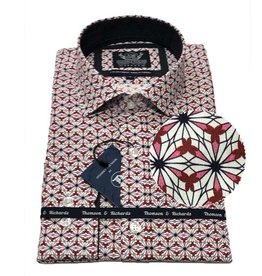 Thompson & Richards Hazard Dress Shirt | Red