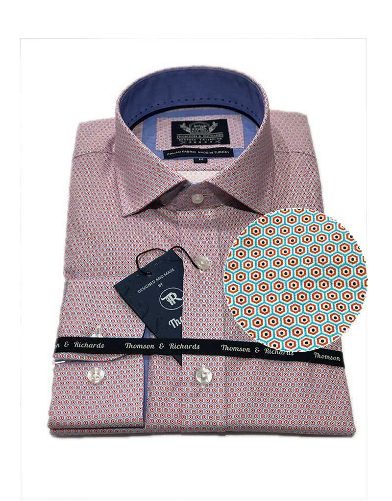 Thompson & Richards Pedro Dress Shirt | Sky
