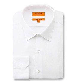 Ganton White Business Shirt | Cotton Stretch