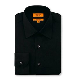 Ganton Black Business Shirt | Cotton Stretch