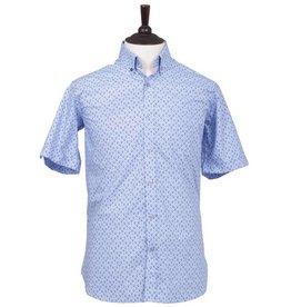London Fog Gosport+ Short Sleeve Shirt   Sky