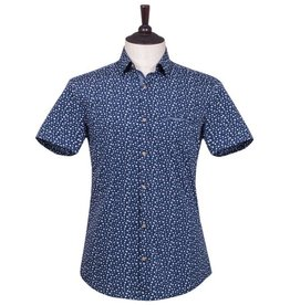 London Fog Margate Short Sleeve Shirt | blue