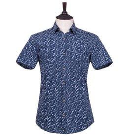 London Fog Margate Short Sleeve Shirt   blue