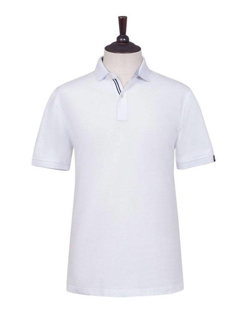 London Fog St. Ives Polo Shirt   White