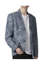 Ben Sherman Steel Daffodil Sports Jacket | Blue Steel