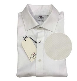 Ben Sherman Tailored Shirt | White Dobby