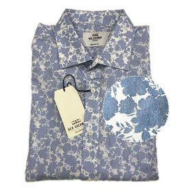 Ben Sherman Tailored Shirt | Light Blue Floral