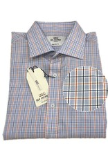 Ben Sherman Tailored Shirt | Blue Orange Check