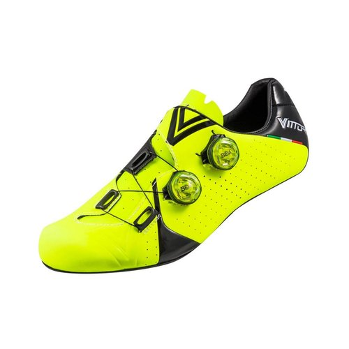 Vittoria Velar Road Shoes - HiVis Yellow