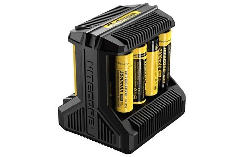 Nitecore: i8 Battery 8 Bay Charger