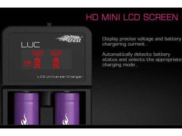 Efest: Luc V2 Dual Battery Charger