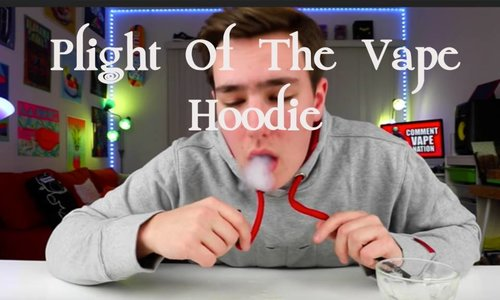 The Plight of the Vape Hoodie