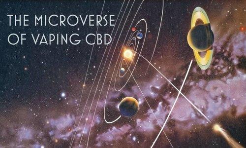 The Microverse of Vaping CBD