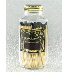 Skeem Design Vintage Match Bottle-Black