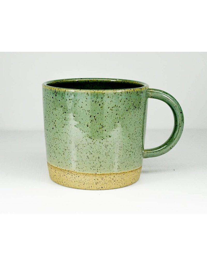 Christi Ahee Turquoise Speckled Mug