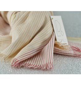 Bloom & Give Haiku Organic Cotton Scarf-Coral