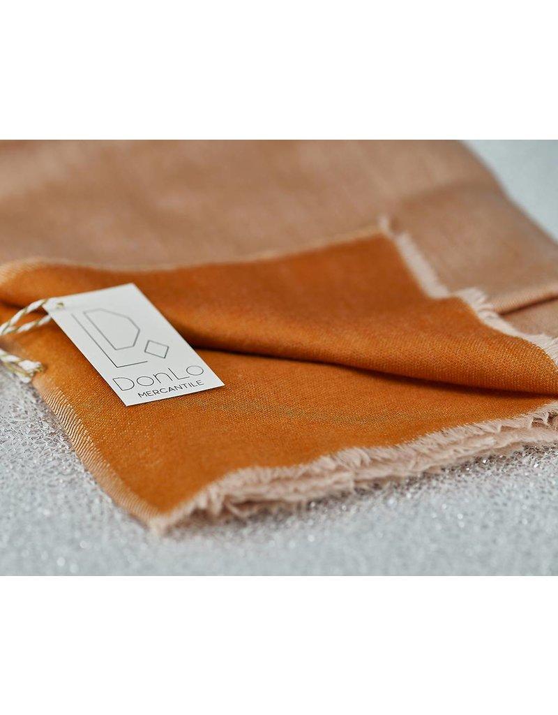 Bloom & Give Meru Reverisble Woolen Scarf-Peach