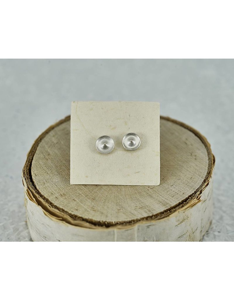 Judi Powers Jewelry Temple Studs Sterling Silver
