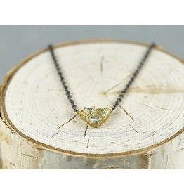 Sarah Graham Metalsmithings Trigon Necklace one Triangel Shape