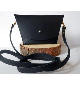 Son of a Sailor Emma Clutch-Wristle & Crossbody Strap-Black