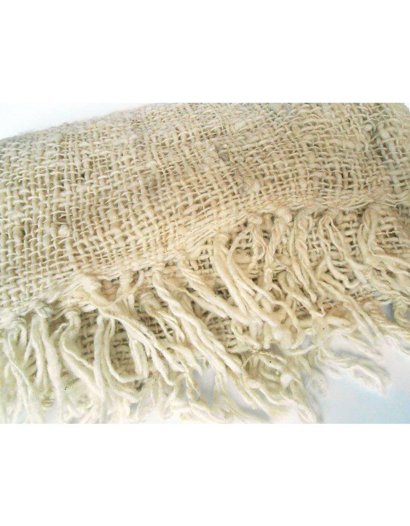 Creative Women Kenya Open weave Shawl-Natural