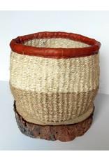 "Creative Women Planter 5""-White Sisal Basket"