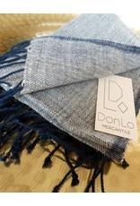 Creative Women Petra Navy Warp Cotton Hand Towel