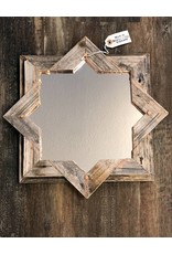 Devon-Made In Breckenridge Colorado Wood and Copper Star Mirror
