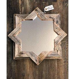 Devon-Made In Breckenridge Colorado Wood and Copper Star Mirror