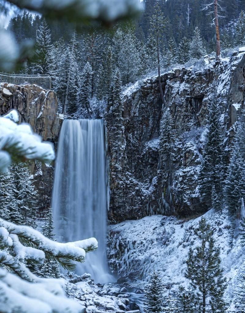 Maxwell Berrien Photography Early Tumalo Falls