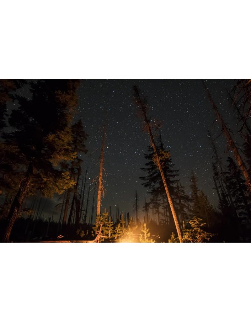 Maxwell Berrien Photography My. Bachlelor at Soda Creek, Round lake Campfire